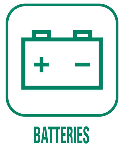 Pictogramme Batteries