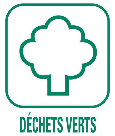 Pictogramme Déchets verts