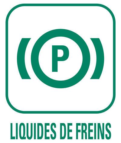 Pictogramme Liquides de freins