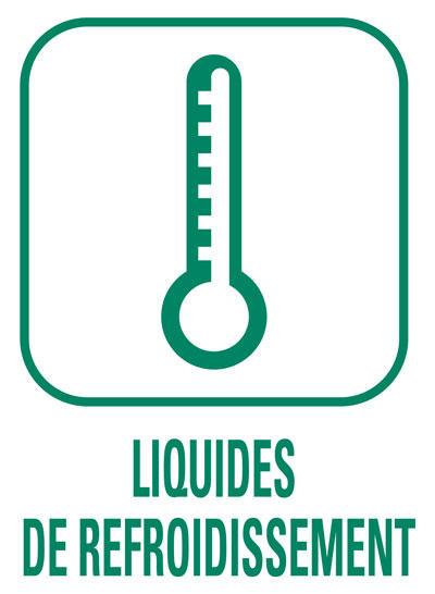 Pictogramme Liquides de refroidissement