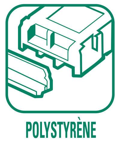 Pictogramme Polystyrènes