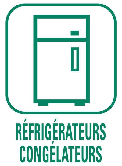 Pictogramme Réfrigirateurs et congélateurs