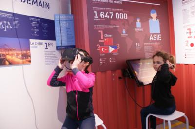 Centre de découverte maritime Milmarin - Exposition Appel du Large 360 - Ploubazlanec