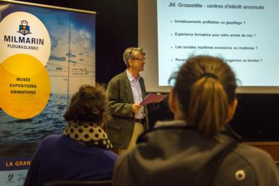 Centre de découverte maritime Milmarin - Conférence Pierre Guérin - Ploubazlanec