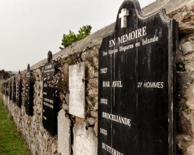 Centre de découverte maritime Milmarin - Mur des disparus - Ploubazlanec