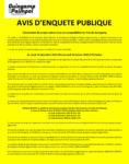 Avis d'enquête publique - Déclaration de projet valant mise en compatibilité du Plan Local d'Urbanisme de Guingamp