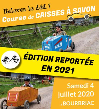 caisses à savon report 2021