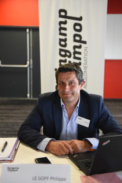 Philippe Le Goff, Vice-président de Guingamp-Paimpol Agglomération