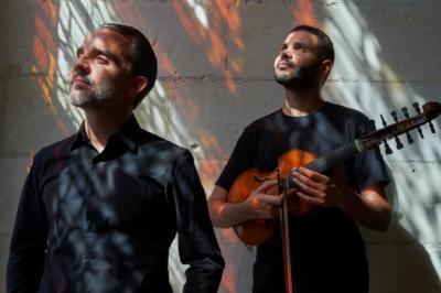 Jasser Haj Youssef et Gaël Cadoux en concert au Centre Culturel La Sirène à Paimpol