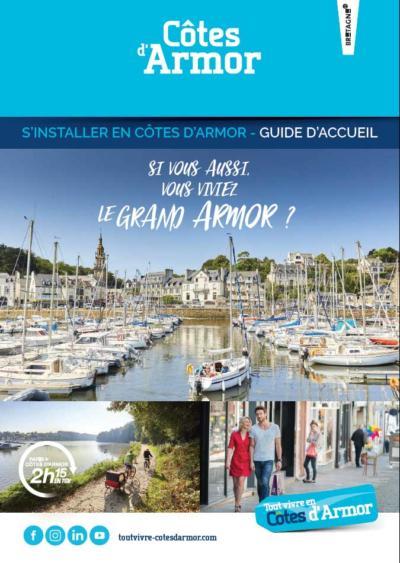 Couverture du guide S'installer en Côtes d'Armor 2020 - Tout Vivre en Côtes d'Armor