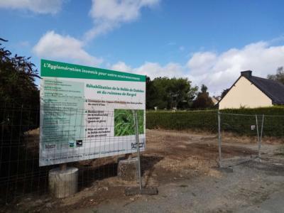 Démarrage des travaux de réhabilitation de la vallée de Cadolan à Guingamp